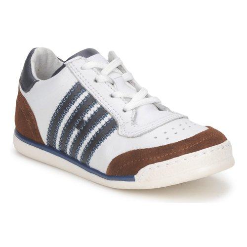Chaussures Enfant Baskets basses Hip ARCHIK Blanc / Marron