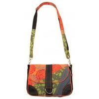 Sacs Femme Sacs Bandoulière Bamboo's Fashion Petit Sac Besace New Dehli GN-144 Orange/Vert Orange