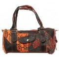Bamboo's Fashion Sac à main Doha GN-146 Orange/Marron