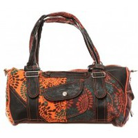 Sacs porté épaule Bamboo's Fashion Sac à main Doha GN-146 Orange/Marron
