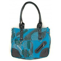 Besaces Bamboo's Fashion Petit Sac Besace Sydney GN-147 Bleu