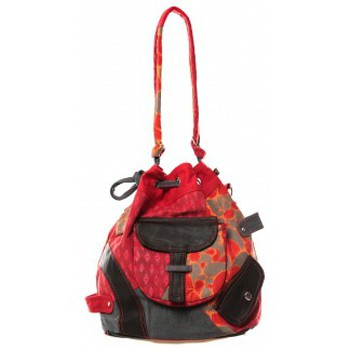 Sacs Femme Besaces Bamboo's Fashion Sac cabas Barcelone GN-1411 Rouge Rouge