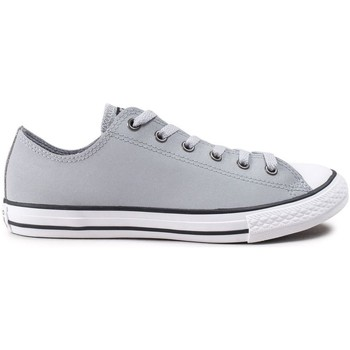 Chaussures Fille Baskets basses Converse ctas glitter - ox gris