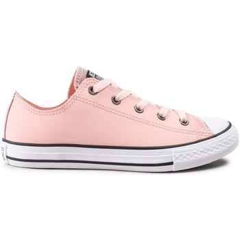 433ad991f35fc Chaussures Fille Baskets basses Converse ctas glitter - ox rose
