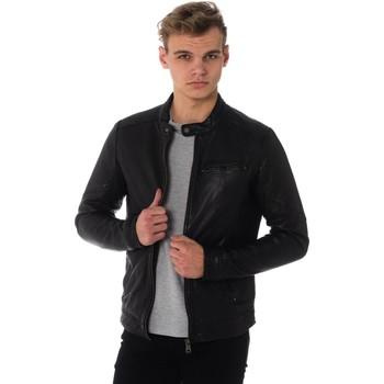 Vêtements Homme Vestes en cuir / synthétiques Cityzen ARMSTRONG BLACK Noir