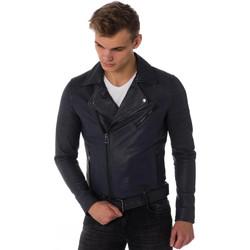 Vêtements Homme Vestes en cuir / synthétiques Cityzen STARMEN NAVY Bleu marine