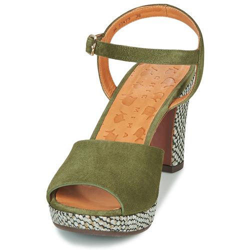 Erick Femme Vert pieds Mihara Sandales Chie Nu Et 354RLjA