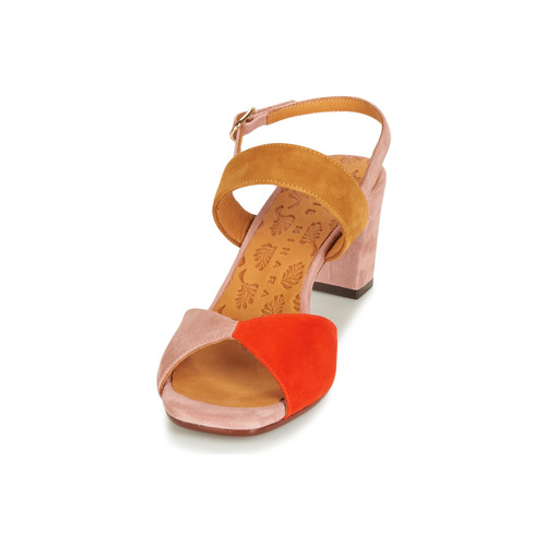 Sandales Rose Chaussures Luzula Et Femme Nu Chie Mihara pieds N80OZPkXnw