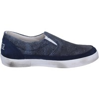 Chaussures Femme Slip ons 2 Stars slip on bleu cuir daim BT801 bleu
