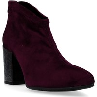 Chaussures Femme Bottines Pedro Miralles 24822 Botines de Mujer rouge
