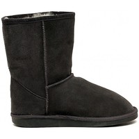 Chaussures Fille Boots EMU WALLABY  LO CHARCOAL     74,4