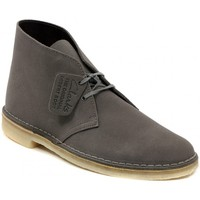Chaussures Homme Boots Clarks DESERT BOOT GREYSTONE    157,5