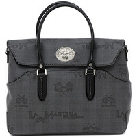 Sacs Femme Cabas / Sacs shopping La Martina EVITA BAG BLACK Multicolore