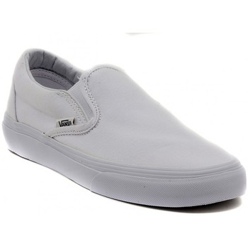Chaussures Slips on Vans CLASSIC SLIP ON WHITE Multicolore