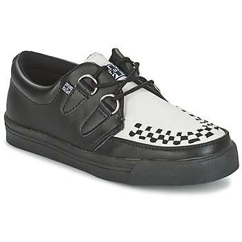 Chaussures Derbies TUK CREEPERS SNEAKERS Noir / Blanc