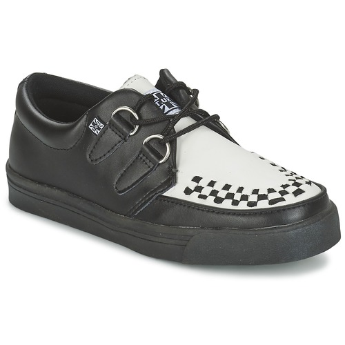 Chaussures Derbies TUK CREEPERS SNEAKERS Noir / Blanc