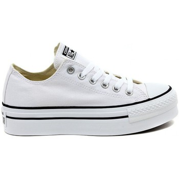Baskets basses Converse ALL STAR  PLATFORM OX  WHITE