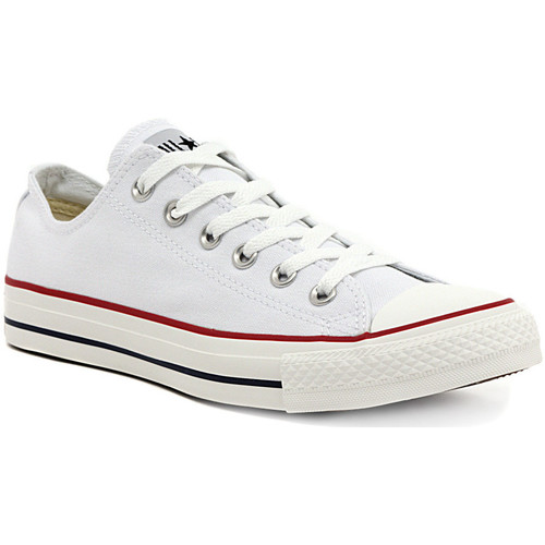 Chaussures Fille Baskets basses Converse ALL STAR OPTICAL WHITE OX Multicolore