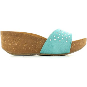 Chaussures Femme Mules De Fonseca 5FWH Sandales Femmes Turquoise Turquoise
