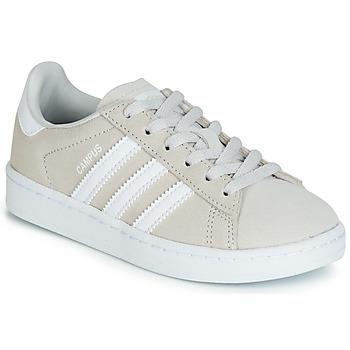 watch c4725 6b2d8 Chaussures Enfant Baskets basses adidas Originals CAMPUS C Gris