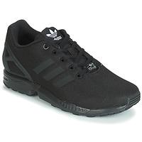 Chaussures Garçon Baskets basses adidas Originals ZX FLUX J Noir