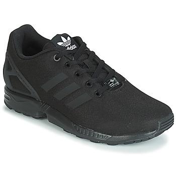 Chaussures Enfant Baskets basses adidas Originals ZX FLUX J Noir