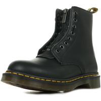Chaussures Femme Boots Dr Martens 1460 Pascal Front ZIP noir