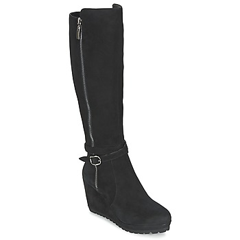 Chaussures Femme Bottes ville Moda In Pelle SITA Noir