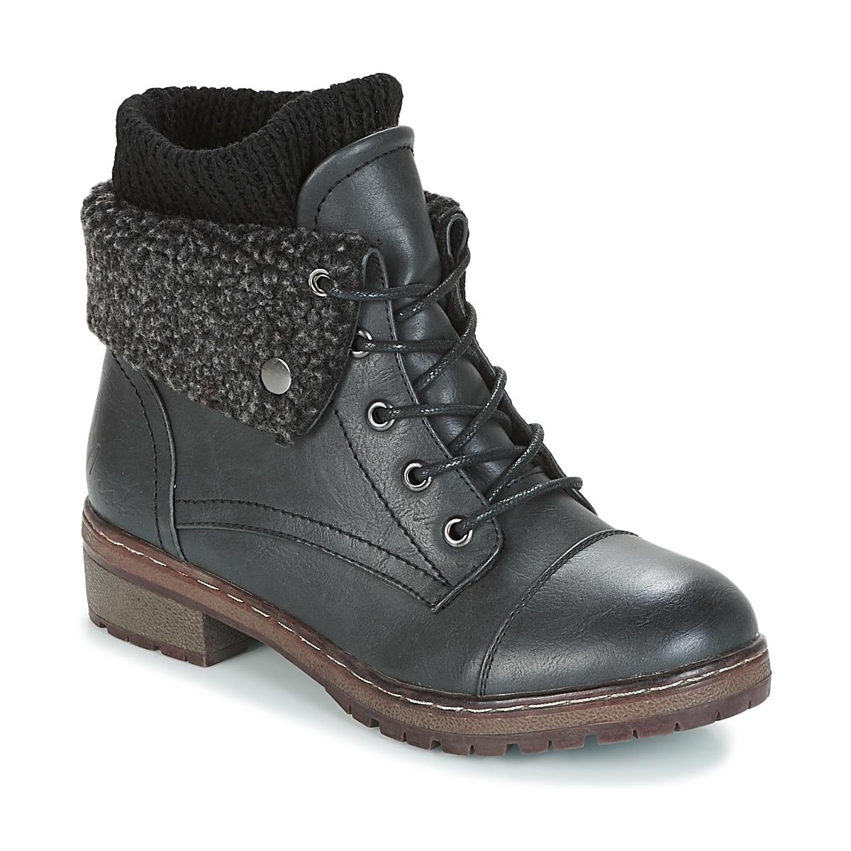 Coolway Chaussures Livraison Gratuite Avec Tony Perotti Loafers Artiro Black Femme Boots Bring Noir
