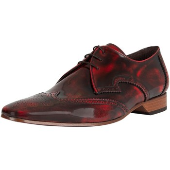 Chaussures Homme Richelieu Jeffery-West Homme Chaussures en cuir poli, Rouge rouge