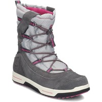 Chaussures Enfant Bottes de neige Timberland Snow Stomper Pull ON WP Gris