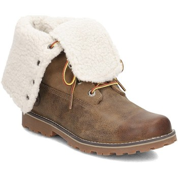 Chaussures Enfant Bottes de neige Timberland Shearling 6 Inch Marron