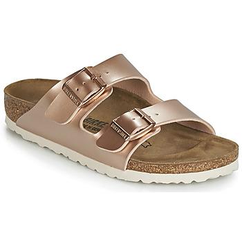 Chaussures Fille Mules Birkenstock ARIZONA Doré