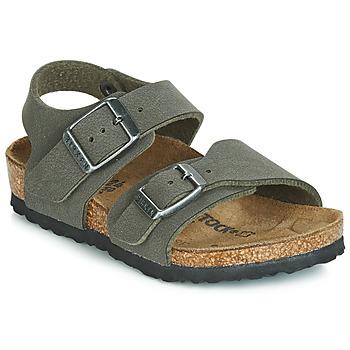 Chaussures Garçon Sandales et Nu-pieds Birkenstock NEW YORK Gris