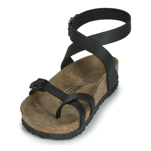 Yara Sandales Et Femme Noir Birkenstock Nu pieds cFK1Jl