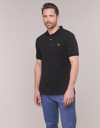 Vêtements Homme Polos manches courtes Lyle & Scott TUPILE Noir