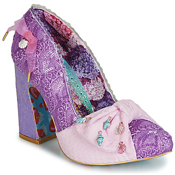 Chaussures Femme Escarpins Irregular Choice TI AMO Violet
