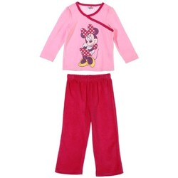 Vêtements Enfant Pyjamas / Chemises de nuit Disney Minnie Mouse Pyjama en velours Disney Rose