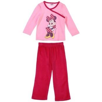 Vêtements Enfant Pyjamas / Chemises de nuit Disney Pyjama en velours Disney Rose