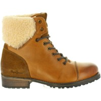 Chaussures Femme Bottes ville Pepe jeans PLS50329 MELTING Marrón
