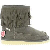 Chaussures Fille Bottes de neige Pepe jeans PGS50134 ANGEL Gris