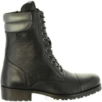 Chaussures Femme Bottes ville Pepe jeans PLS50350 MELTING Negro