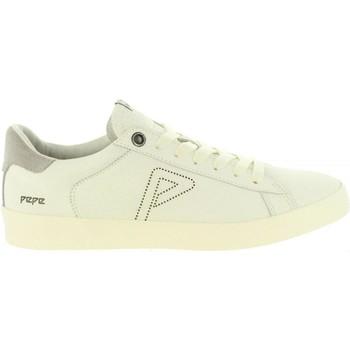 Chaussures Homme Baskets basses Pepe jeans PMS30497 PORTOBELLO Blanco