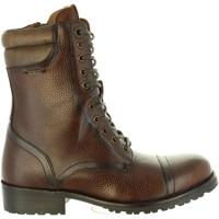 Chaussures Femme Bottes ville Pepe jeans PLS50350 MELTING Marr?n