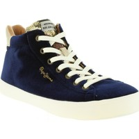 Chaussures Femme Baskets montantes Pepe jeans PLS30768 STARK Azul