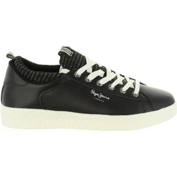 Chaussures Femme Baskets basses Pepe jeans PLS30780 ROXY Negro