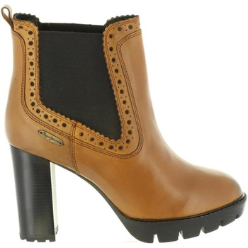 Chaussures Femme Bottines Pepe jeans PLS50326 VERNON Marr?n