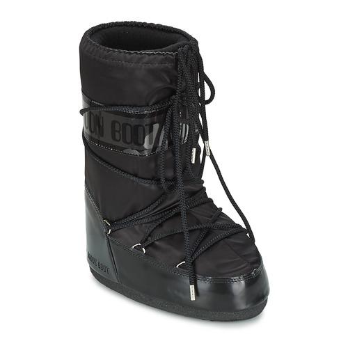 Chaussures Femme Bottes de neige Moon Boot MOON BOOT GLANCE Noir