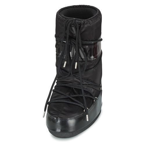 Neige Boot Bottes De Glance Chaussures Femme Noir Moon 3TFcJlK1