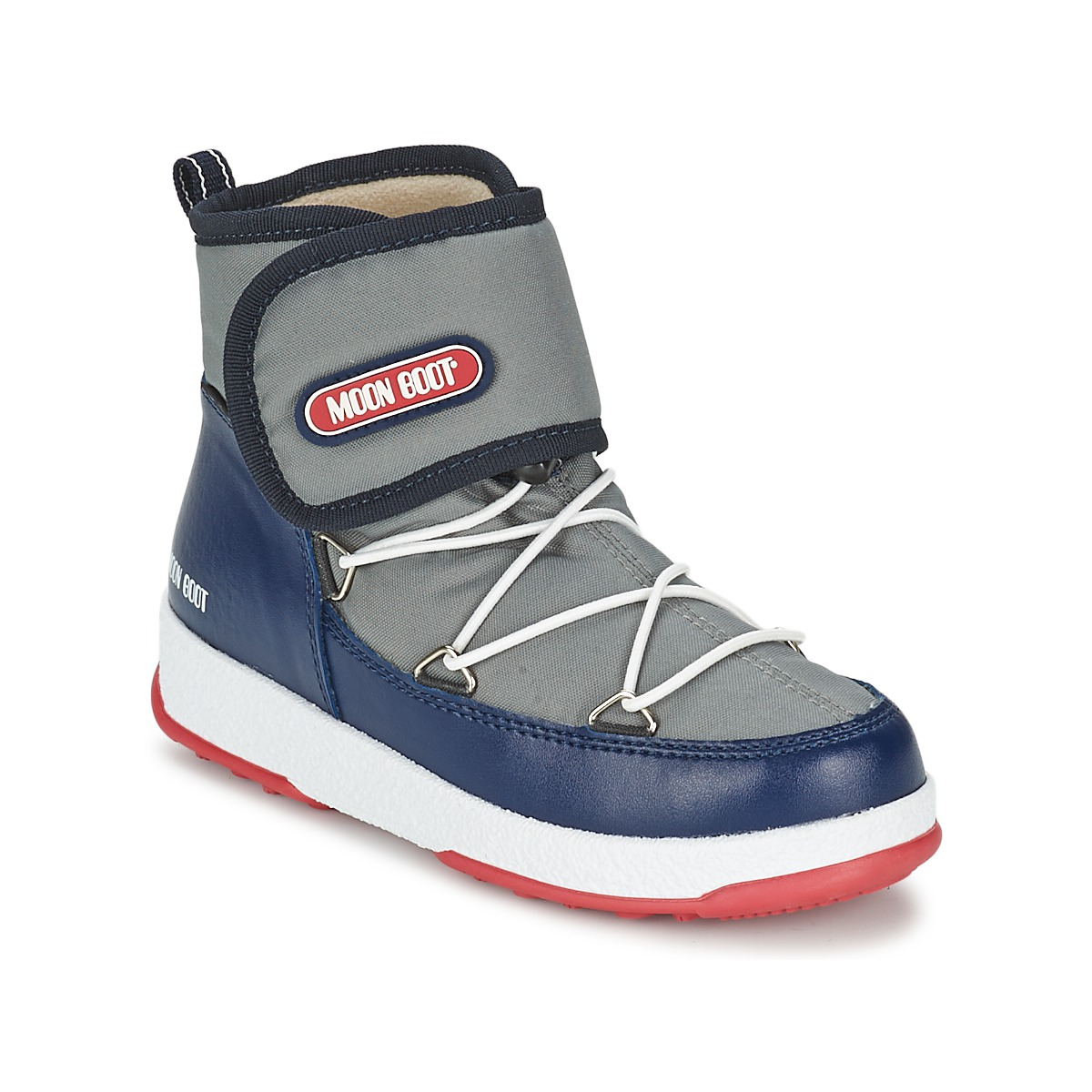 Moon Boot MOON BOOT WE STRAP JR Gris / Bleu